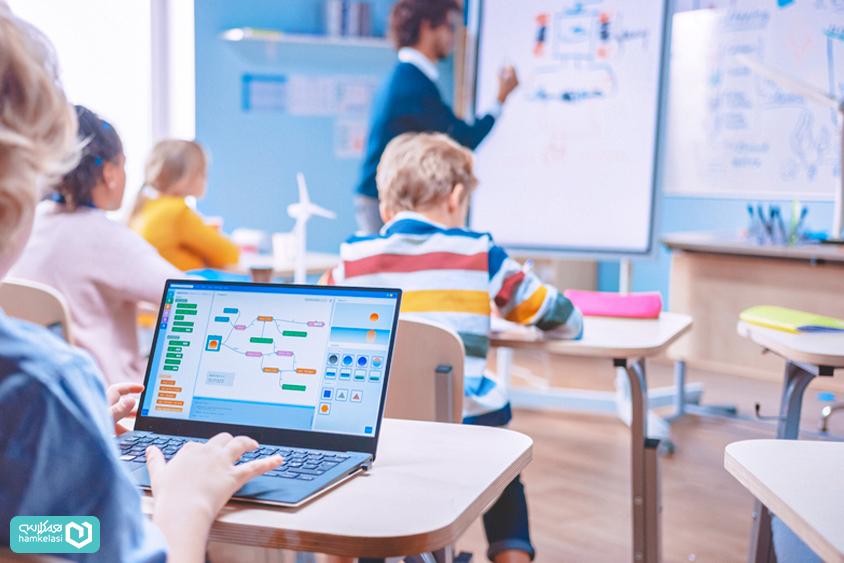نحوهی مدیریت فرایند الکترونیک در مدارس