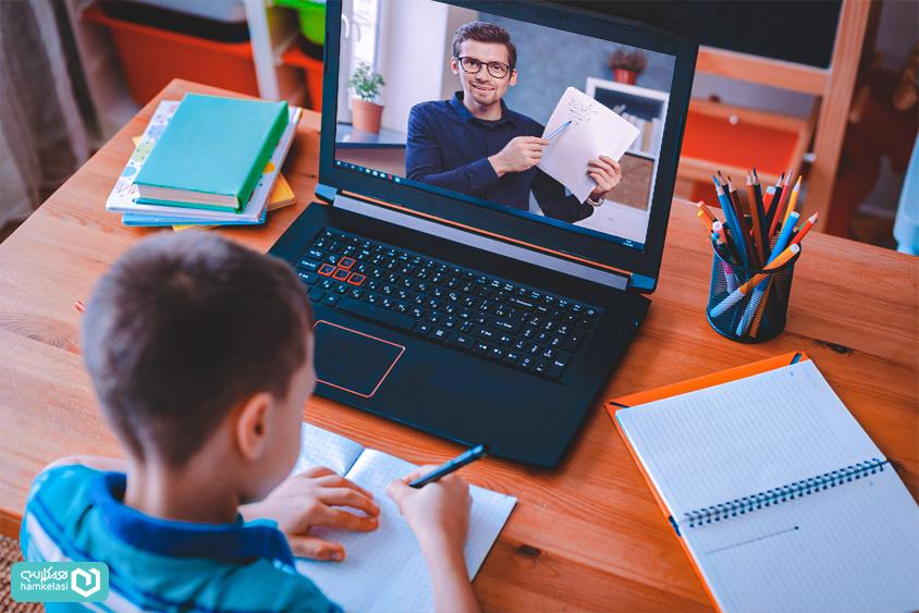 کلاس آنلاین برای مدارس