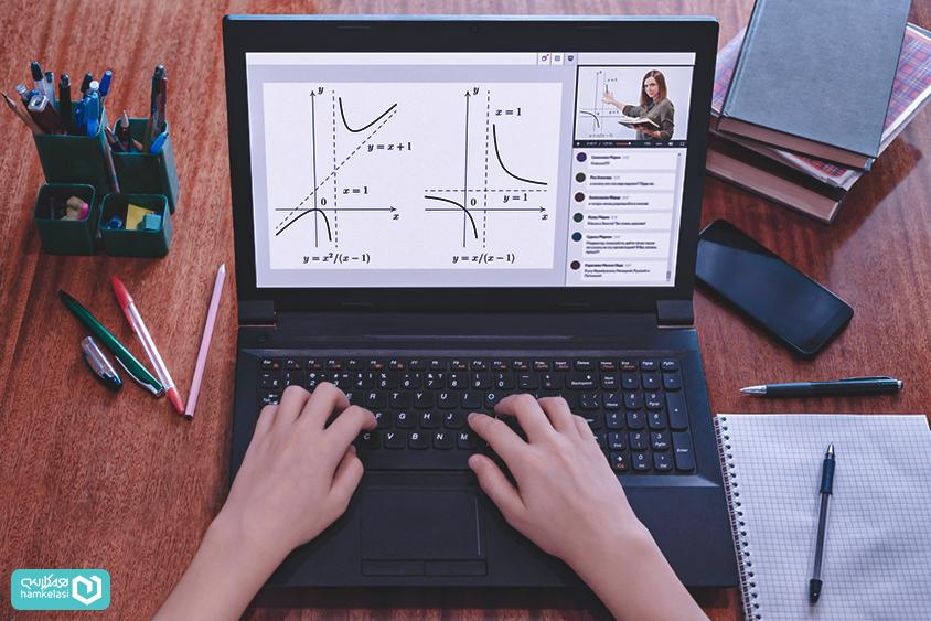 تخته مجازی در کلاس آنلاین