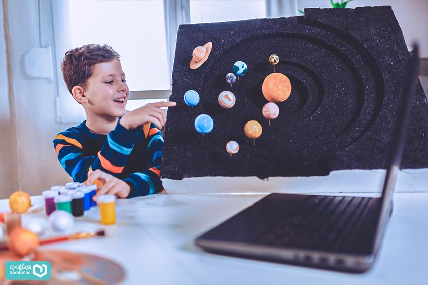 برگزاری کلاسهای آنلاین تعاملی در مدرسه