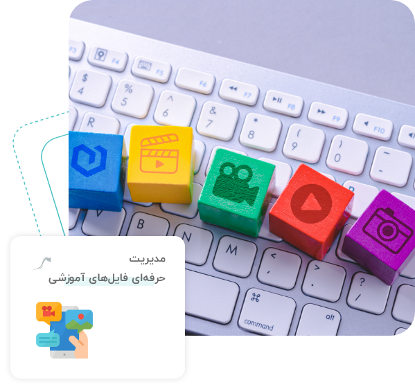نرم افزار مدیریت محتوای آموزشی