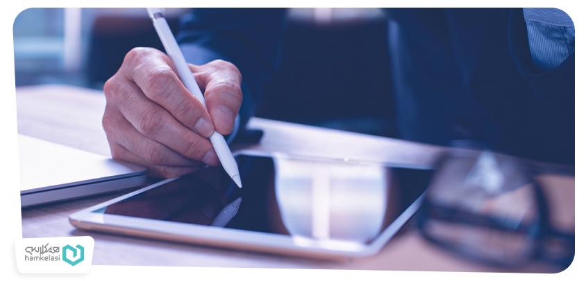 قلم هوشمند و کاربرد آن در کلاسهای الکترونیک